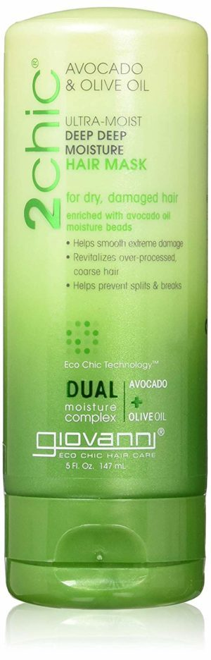 Giovanni 2chic Avocado and Olive Oil hair mask