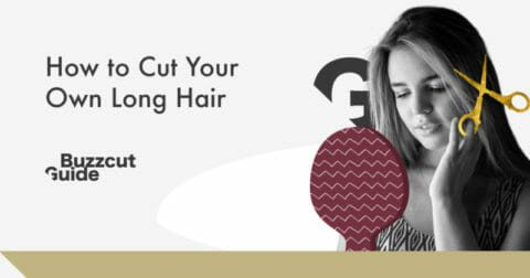 how to cut your own long hair women