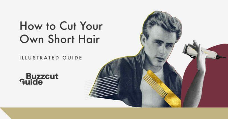 cut your own short hair men